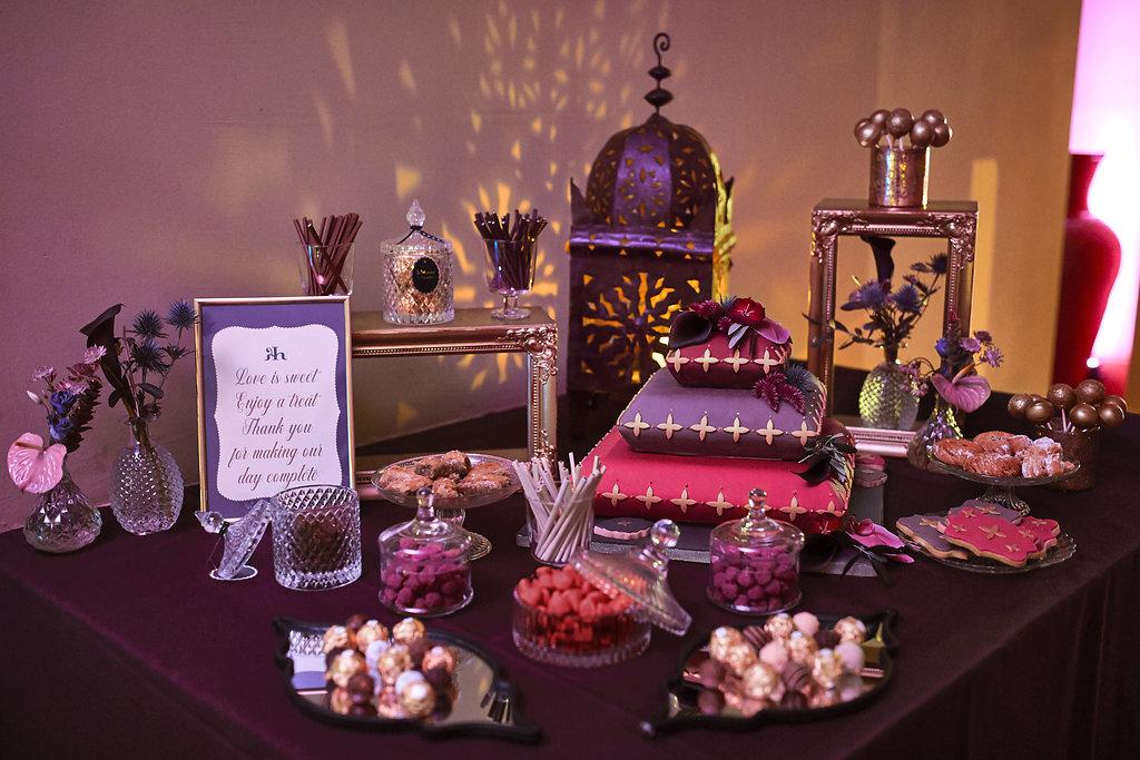 Candybar, Hochzeitsplaner